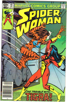 Spider-woman #49 comic book  mint 9.8