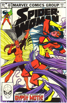Spider-woman #48 comic book  mint 9.8