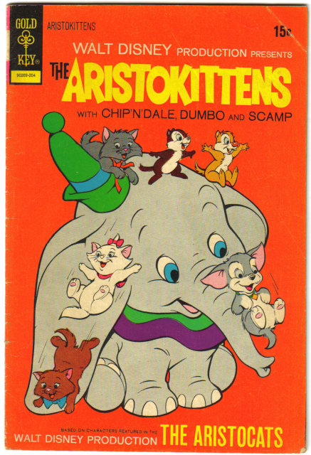 Aristokittens #2 comic book very good 4.0
