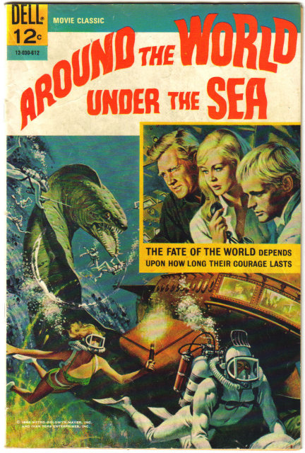 Around the World Under the Sea comic book good/very good 3.0