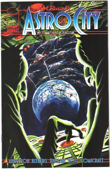 Kurt Busiek's Astro City vol 2 #7 comic book mint 9.8