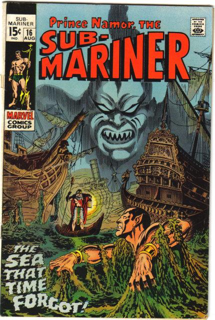 Sub-Mariner #16 comic book fine 6.0