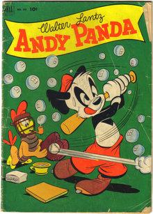 Andy Panda #409 comic book very good 4.0