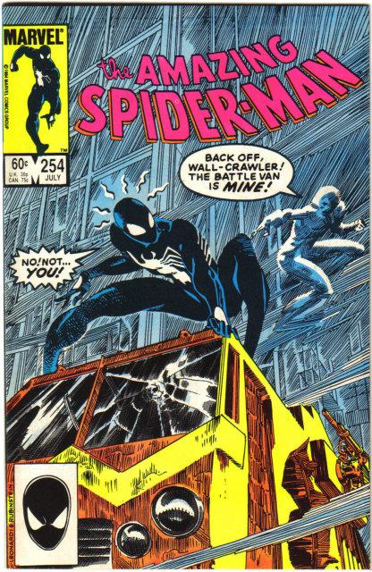 Amazing Spider-man #254 comic book near mint 9.4
