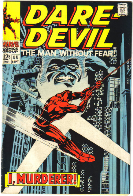 Daredevil the Man Without Fear #44 very fine 8.0