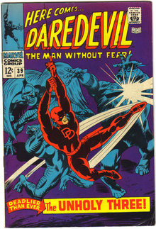 Daredevil the Man Without Fear #39 comic book fine 6.0