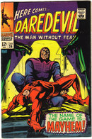 Daredevil the Man Without Fear #36 comic book fine 6.0