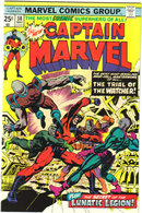 Captain Marvel #38 comic book near mint 9.4