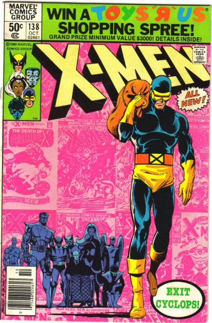 Uncanny X-Men #138 comic book very fine 8.0