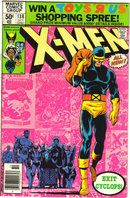 Uncanny X-Men #138 comic book very fine 8.0