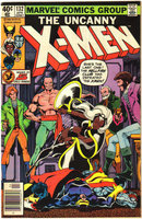Uncanny X-Men #132 comic book very fine 8.0