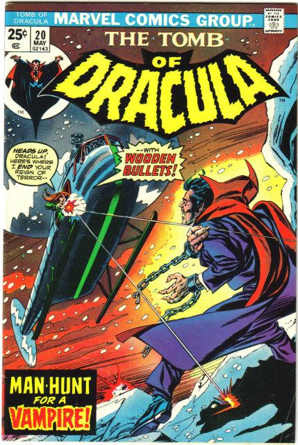 Tomb of Dracula #20 comic book fine 6.0