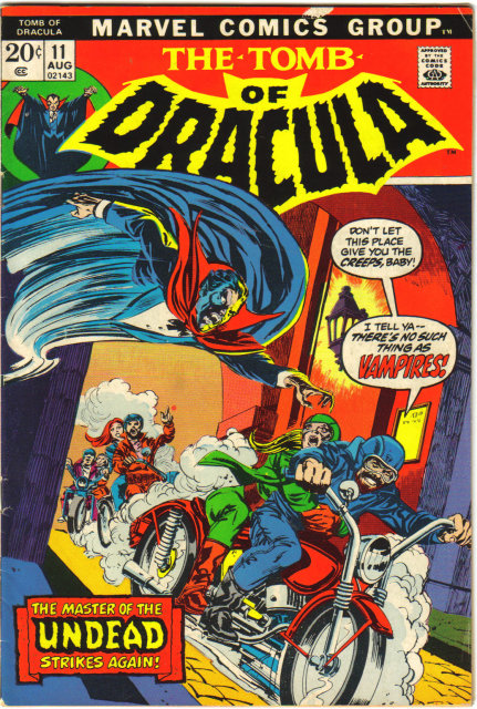 Tomb of Dracula #11 comic book very good/fine 5.0