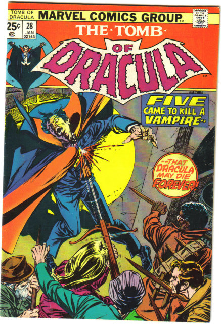 Tomb of Dracula #28 comic book fine/very fine 7.0
