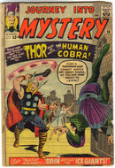 Journey Into Mystery #98 with Thor fair/good 1.8