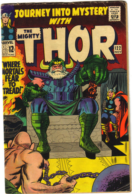 Journey Into Mystery #122 with Mighty Thor good/very good 3.0