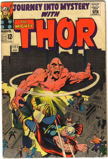 Journey Into Mystery #121 with Mighty Thor good/very good 3.0