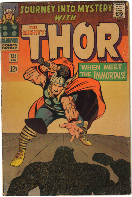 Journey Into Mystery #125 with Mighty Thor very good 4.0