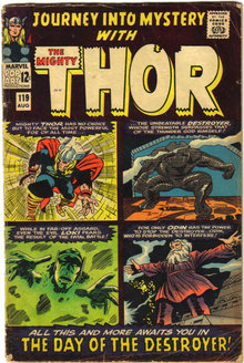 Journey Into Mystery #119 with Mighty Thor very good 4.0