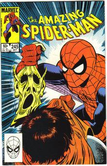 Amazing Spider-man #245 comic book very fine/near mint 9.0