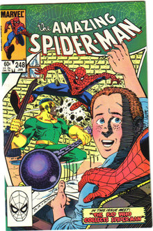 Amazing Spider-man #248 comic book near mint 9.4