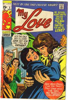 My Love #5 comic book very good/fine 5.0