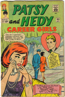 Patsy and Hedy #99  comic book good/very good  3.0