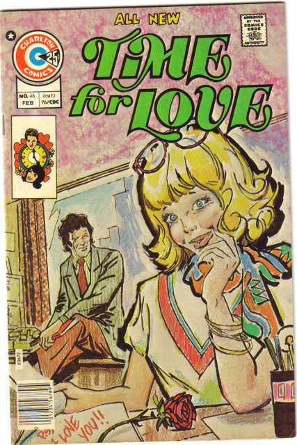 Time For Love #46  comic book very fine 8.0