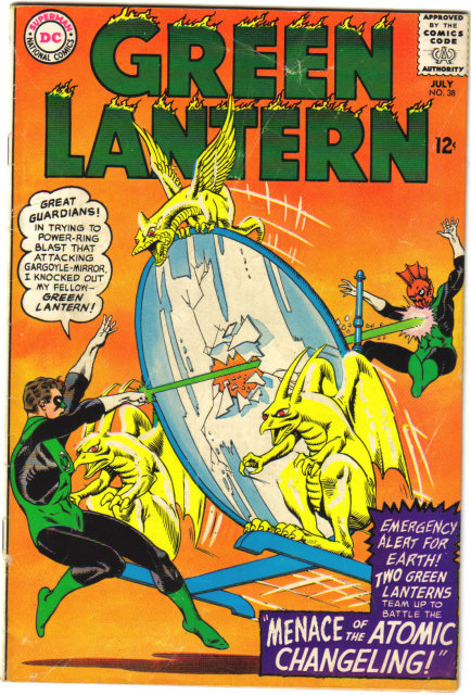 Green Lantern #38 comic book very good 4.0