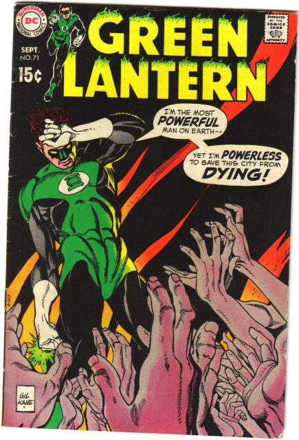 Green Lantern #71 comic book fine plus 6.5