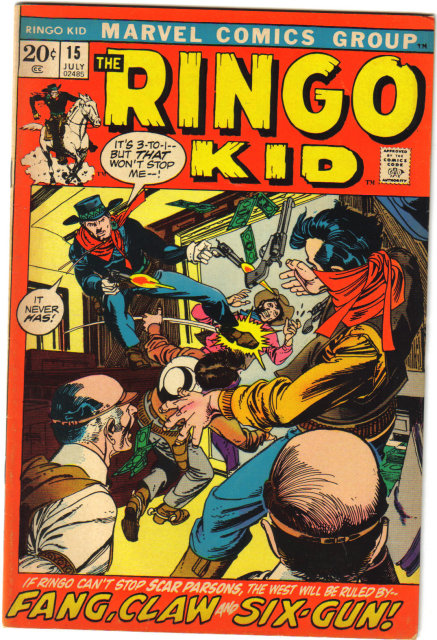 Ringo Kid #15 comic book very fine 8.0
