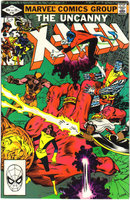 Uncanny X-Men #160 comic book near mint 9.4