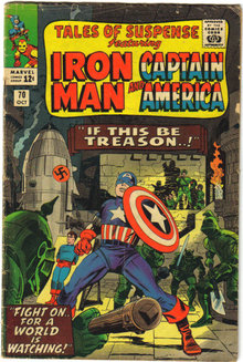 Tales of Suspense #70 comic book very good 4.0