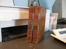 Johnson's Poets Index to the English Poets two volume set 1780
