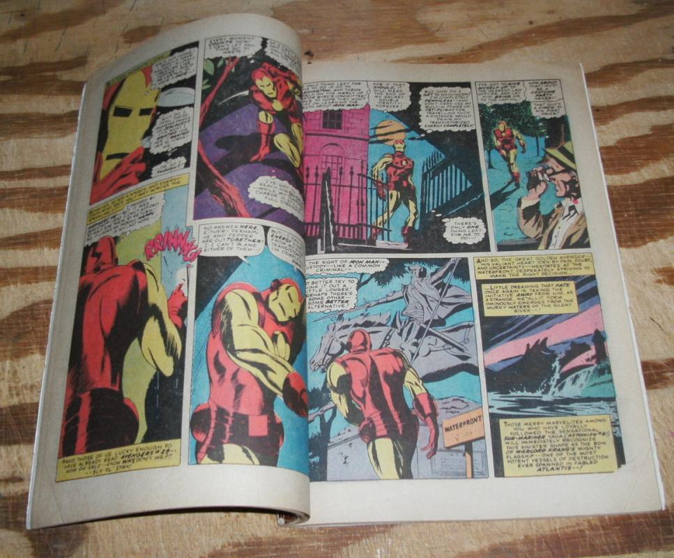 Iron Man King-size Special #1 vg/fn 5.0