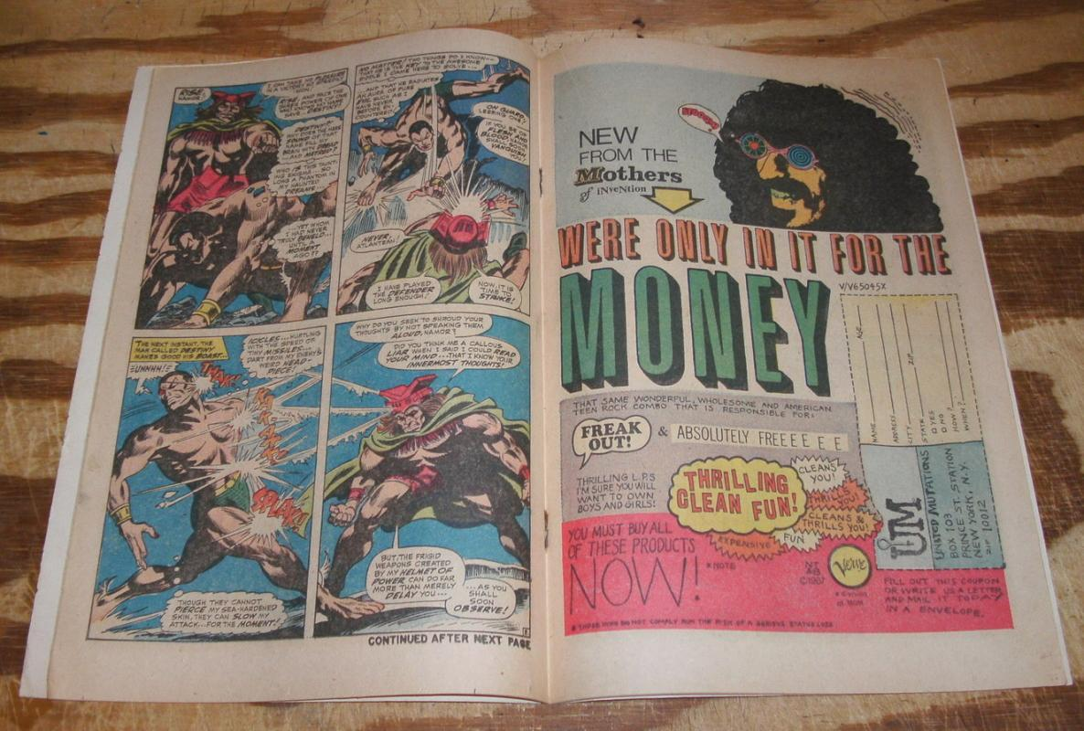 Iron Man and Sub-Mariner #1 special fine/very fine 7.0