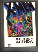 X-Men X-tinction Agenda 1992 graphic novel very fine/near mint condition