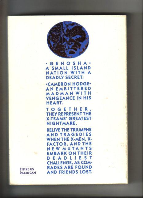 X-Men X-tinction Agenda 1992 graphic novel very fine/near mint condition