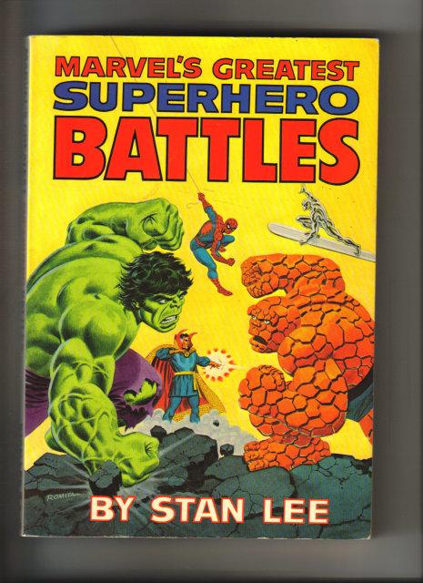 Marvel's Greatest Superhero Battles Fireside book