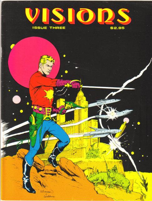 Visions issue #3 comic magazine