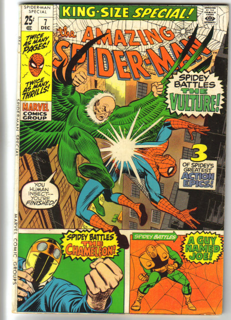 Amazing Spider-man king size special #7 comic book fine 6.0 comic book fine 6.0