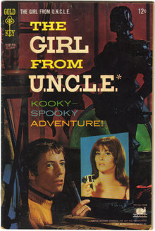Girl From Uncle #5 comic book fair 1.5