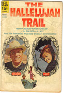 Hallelujah Trail  movie comic book very good 4.0
