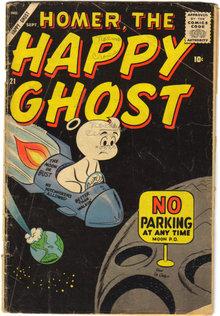 Homer, the Happy Ghost #21 comic book fair 1.5