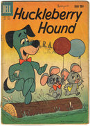Huckleberry Hound #1050  comic book very good 4.0