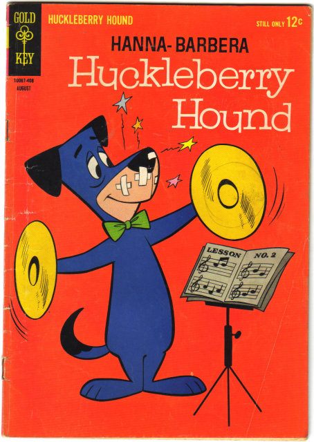 Huckleberry Hound #25 comic book very good/fine 5.0