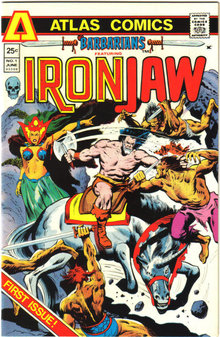 Ironjaw #1 comic book near mint 9.4