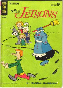 Jetsons #6 comic book very good 4.0