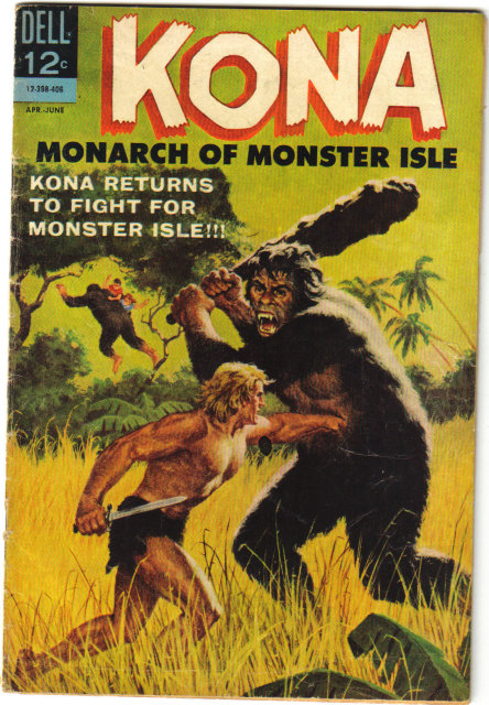 Kona Monarch of Monster Isle #10  comic book very good 4.0