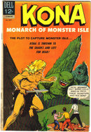 Kona Monarch of Monster Isle #15  comic book fine 6.0